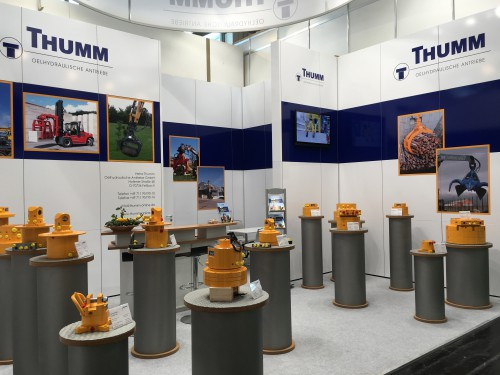 Messestand THUMM bauma 2016